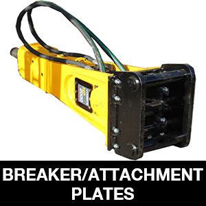 Breaker-Attachment-Plates