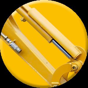 digger ram guards - plant equipment