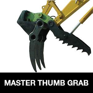 Digger Attachment Master Thumb Grab