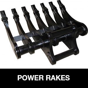 Power Rake Digger Attachment